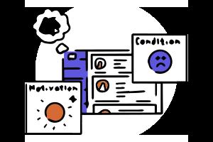 チーム内の「悩み・モチベーション・コンディション」を可視化